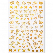 Born Pretty, Nail Stickers 49291-02, 1 шт