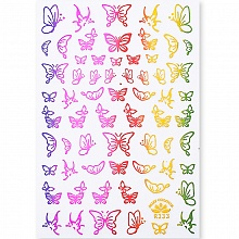 Born Pretty, Nail Stickers 49291-06, 1 шт