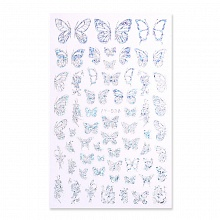 Born Pretty, Nail Stickers 50285-03, 1 шт