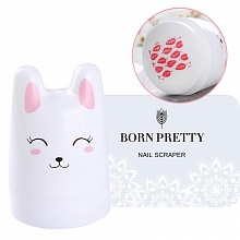 Born Pretty, Штамп 38187 Head Cute Rabbit Stamper, 1 шт