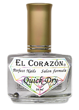 EL CORAZON 420 Quick Dry (Сушка-капля с летучими силиконами), 16 мл. - интернет-магазин «All for nails»