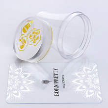 Born Pretty, Штамп 39364 XL Clear Jelly Stamper, 1 шт