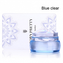 Born Pretty, Штамп 41381-01 Blue Clear Stamper, 1 шт