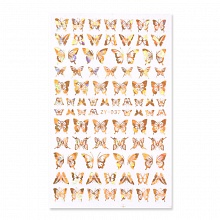 Born Pretty, Nail Stickers 50285-06, 1 шт