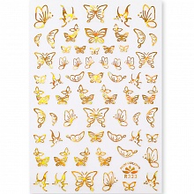 Born Pretty, Nail Stickers 49291-05, 1 шт