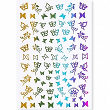Born Pretty, Nail Stickers 49291-03, 1 шт