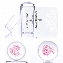 Born Pretty, Штамп 25560 Clear Stamper with Cap, 1 шт