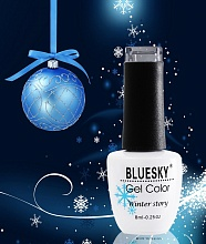 "Bluesky, Гель-лак ""Winter Story"",  8 ml"