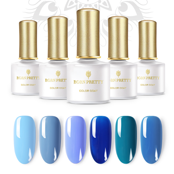 Гель-лак Born Pretty Jazz Blue Series (JB), 6 ml. (Арт. 42876)