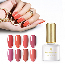 Гель-лак Born Pretty Coral Red Series (CR), 6 ml. (арт. 45891)