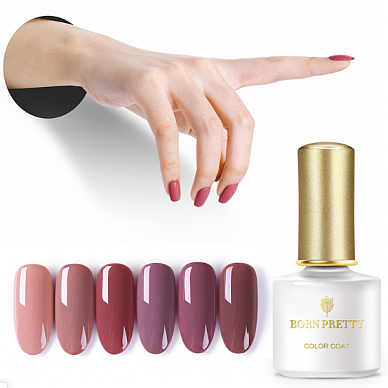 Гель-лак Born Pretty Millennial Pink Series  (MP), 6 ml. (Арт. 42870)