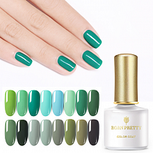 Гель-лак Born Pretty Green Series (GS), 6 ml. (Арт. 45159)