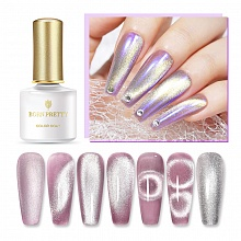 Born Pretty, Топ для гель-лака 49772 Silver Snowlight Magnetic Gel, 6 мл