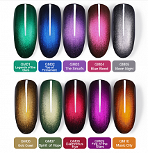 Гель-лак Born Pretty Glamurous Magic Cat Eye Series (GM), 6 ml. (Арт. 44494)