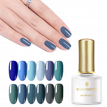 Гель-лак Born Pretty Green Blue Series (GB), 6 ml. (Арт. 45160)