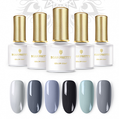 Гель-лак Born Pretty Grey Series (G), 6 ml. (Арт. 42875)