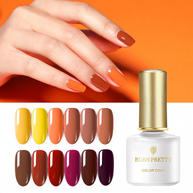 Гель-лак Born Pretty Pumpkin Color Series (PS)(PC), 6 ml. (Арт. 45157, 46102)