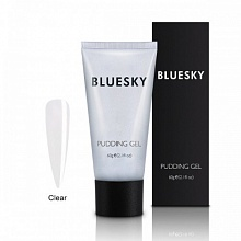BLUESKY, Полигель PUDDING GEL CLEAR (Прозрачный), 60 ml