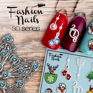 Fashion nails, Слайдер 3D #41