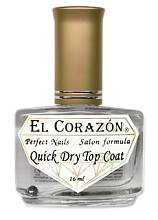 EL Corazon, 417 Топ-быстрая сушка Quick dry top coat, 16 мл - интернет-магазин «All for nails»