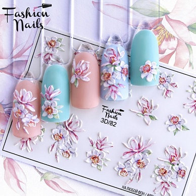 Fashion nails, Слайдер 3D #82